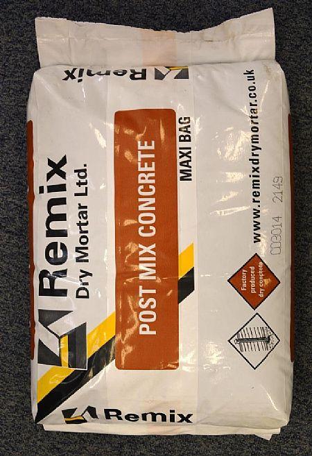 Remix Postmix 20kg Bag Fencing Supplies Garden Decking