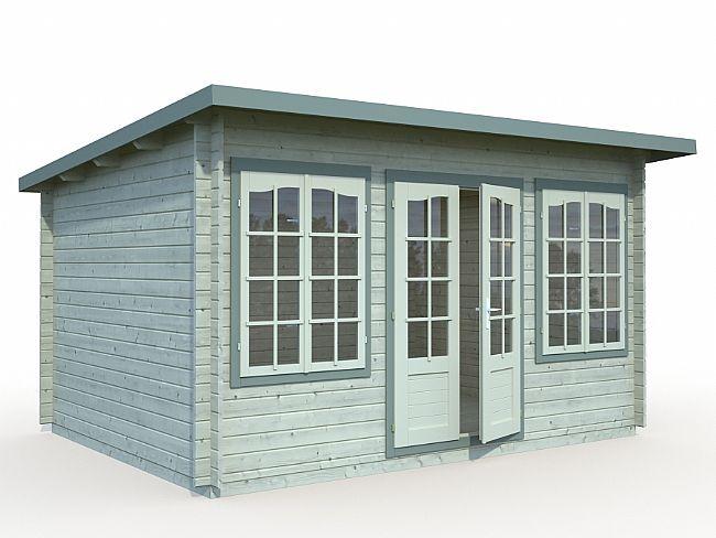 Zante Log Cabin X Fencing Supplies Garden