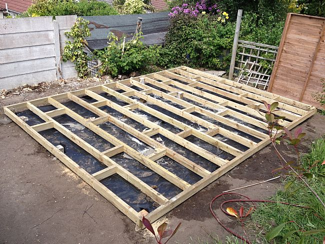 Bearer base Fencing Supplies Garden Decking amp Sheds
