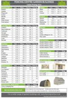 Download Garden<br />Buildings Pricelist